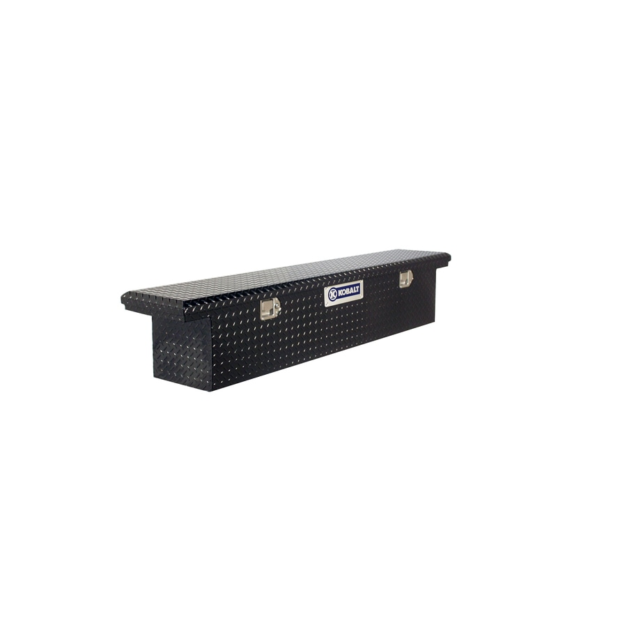 Kobalt Fullsize Black Aluminum Truck Tool Box
