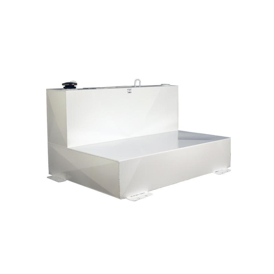 Kobalt 43.5-in x 31-in x 24-in White Powder Coat Steel Universal Truck Tool Box