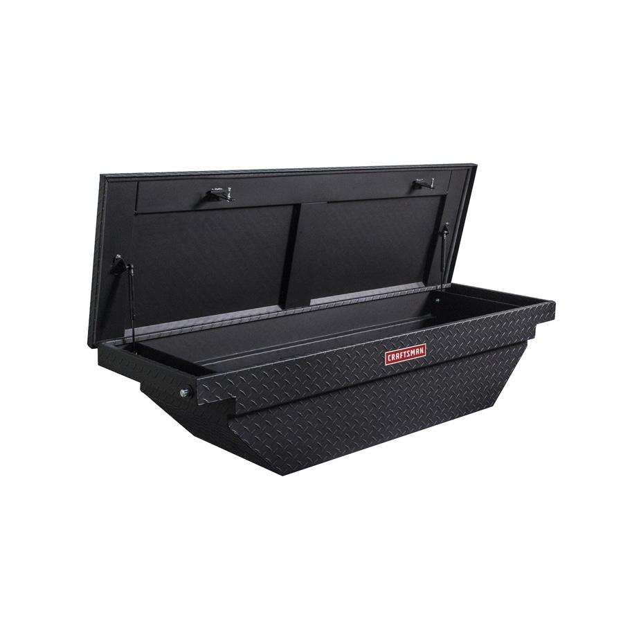 Small Truck Tool Box >> CRAFTSMAN 61.5-in x 20-in x 13-in Matte Black Aluminum