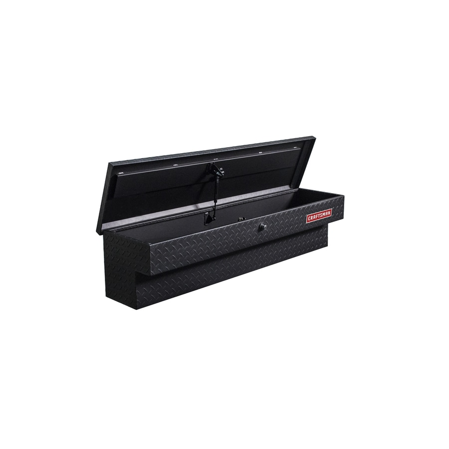 Small Truck Tool Box >> CRAFTSMAN 48-in x 11.5-in x 11-in Matte Black Aluminum