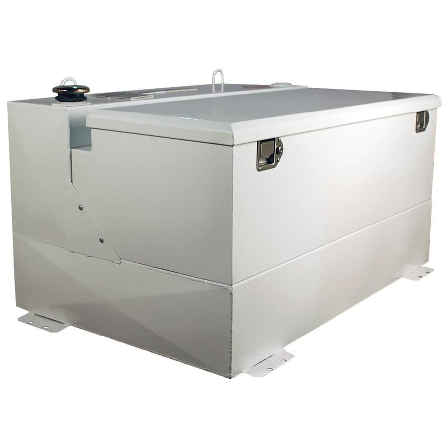 Better Built 75 Gallon White Steel Transfer Tank With Chest Rectangle