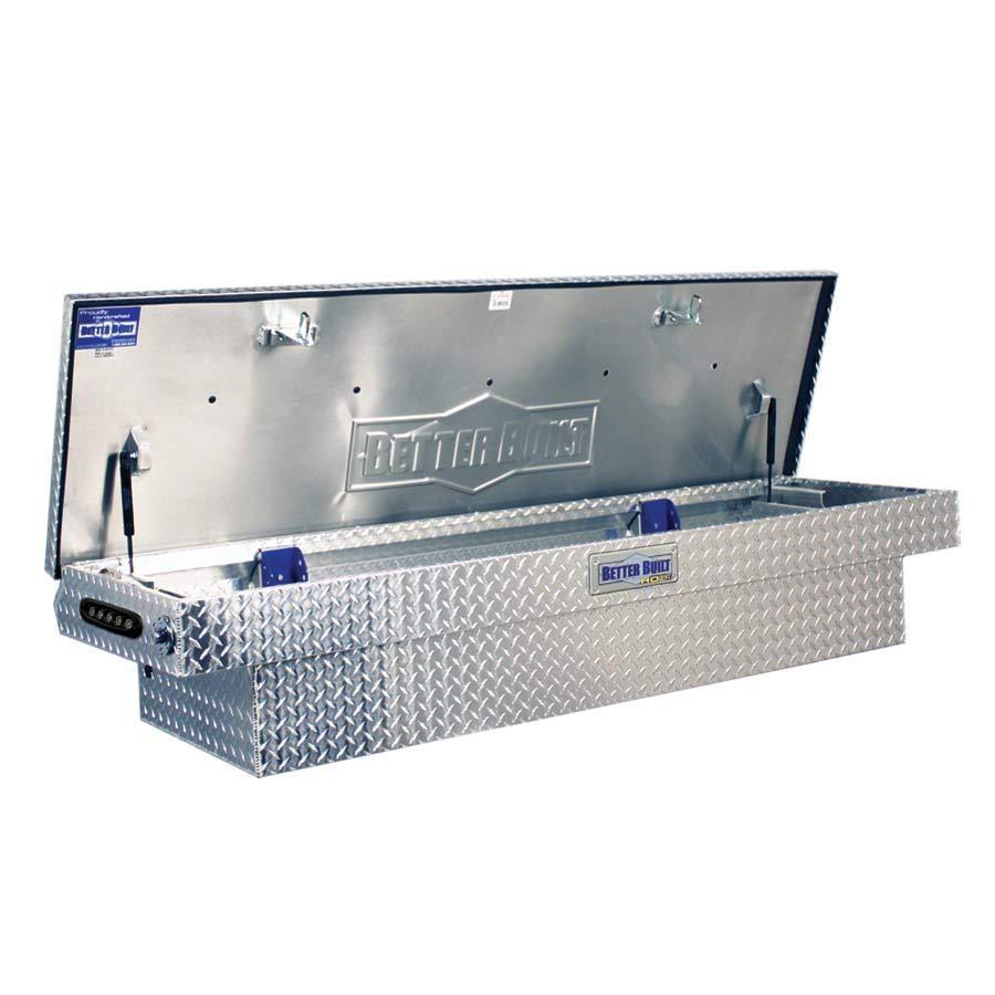 Kobalt Full Size Silver Aluminum Truck Tool Box
