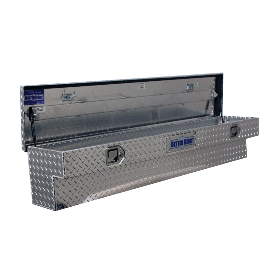 Better Built 60-in x 11.5-in x 11-in Aluminum Universal Truck Tool Box