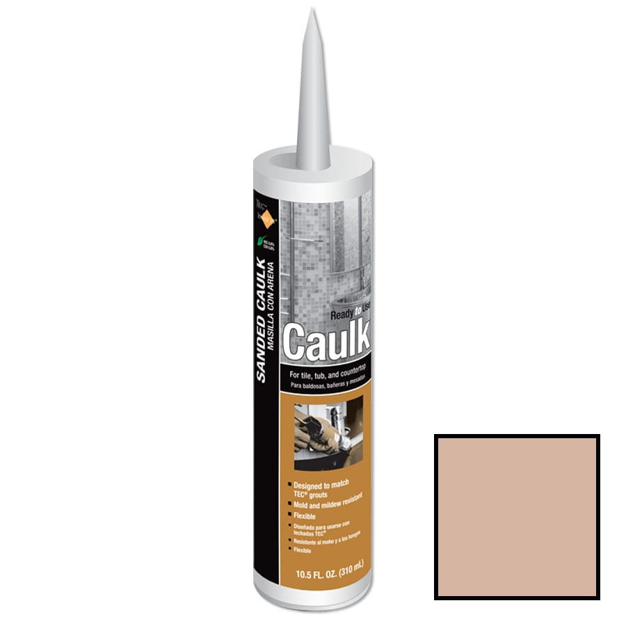TEC Invision 10.5-oz Sandstone Beige Sanded Paintable Latex Specialty Caulk