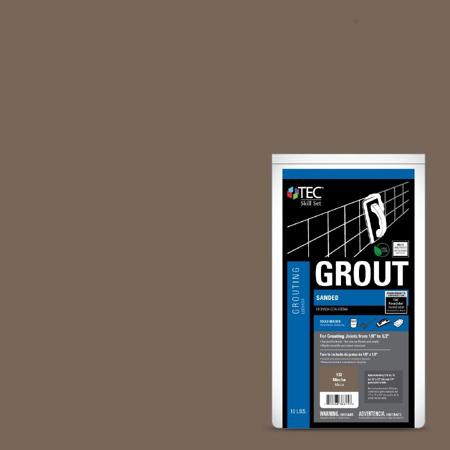 Tec Skill Set 10 Lb Mocha Powder Sanded Grout