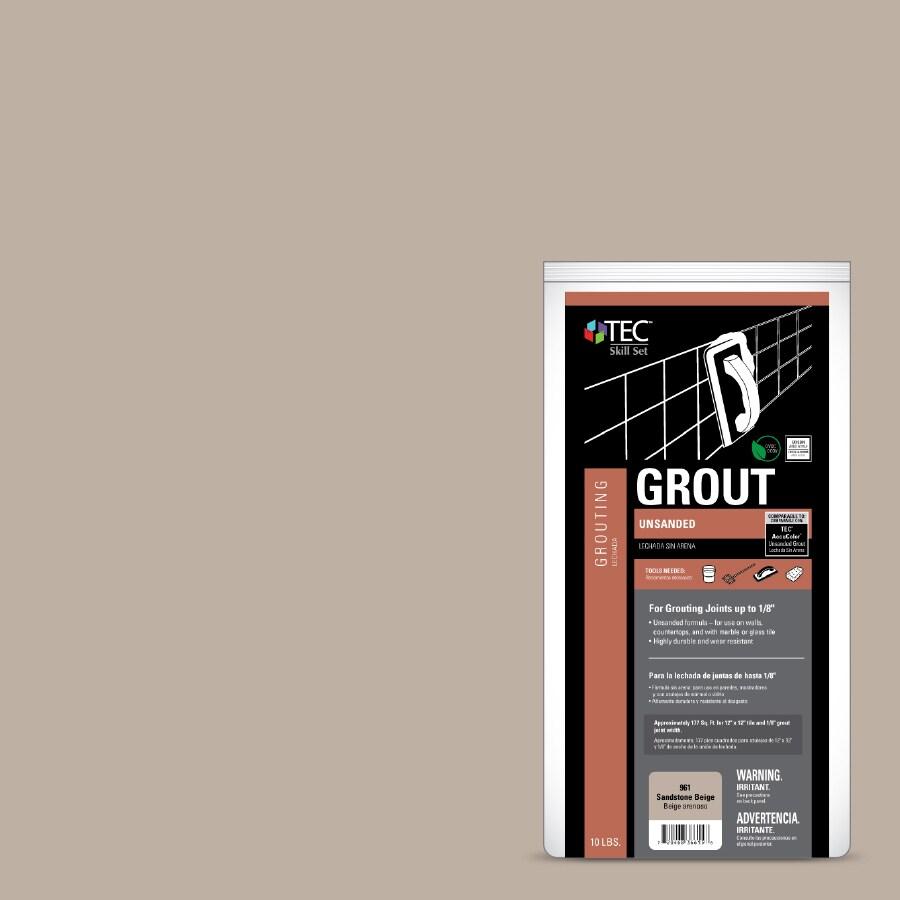 TEC Skill Set 10-lb Sandstone Beige Powder Grout