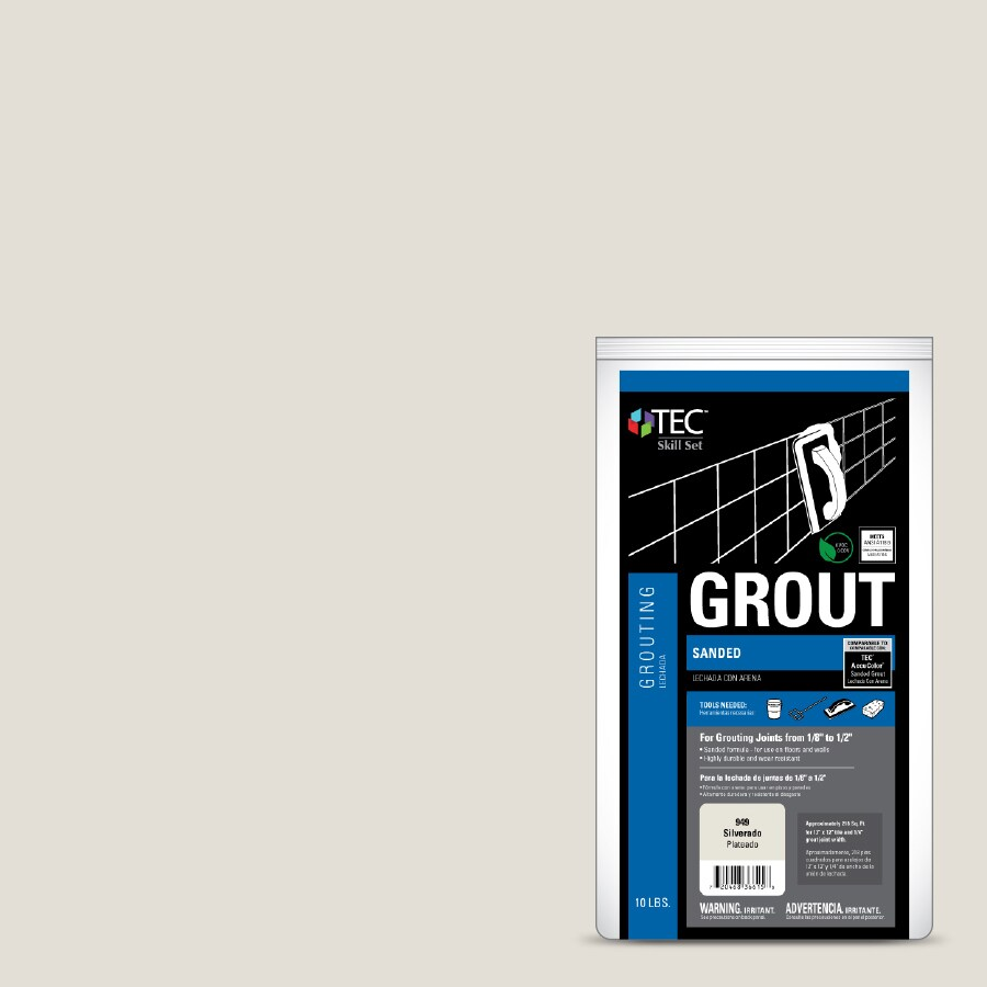TEC Skill Set 10-lb Silverado Sanded Powder Grout