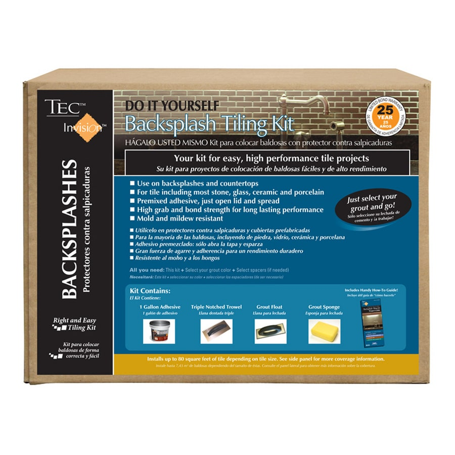 TEC Invision 8.08 Lb. White Premixed Backsplash Mortar