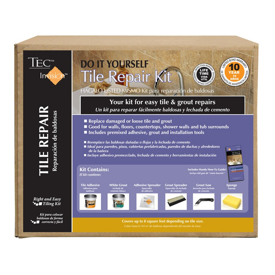 TEC Invision 5 Lb. White Premixed Tile Repair Mortar