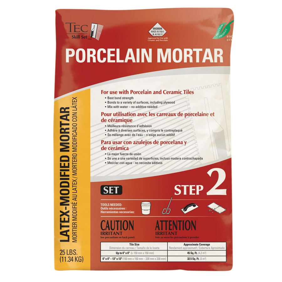 TEC Skill Set White Powder Polymer-Modified Thinset Mortar
