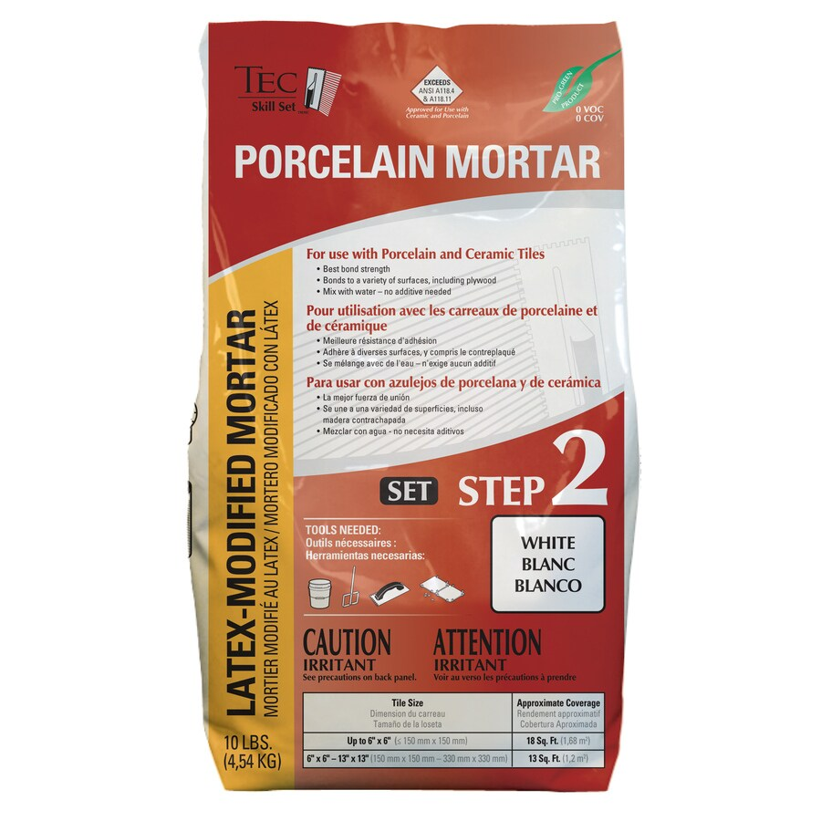 TEC Skill Set 10-lb White Powder Polymer-Modified Mortar