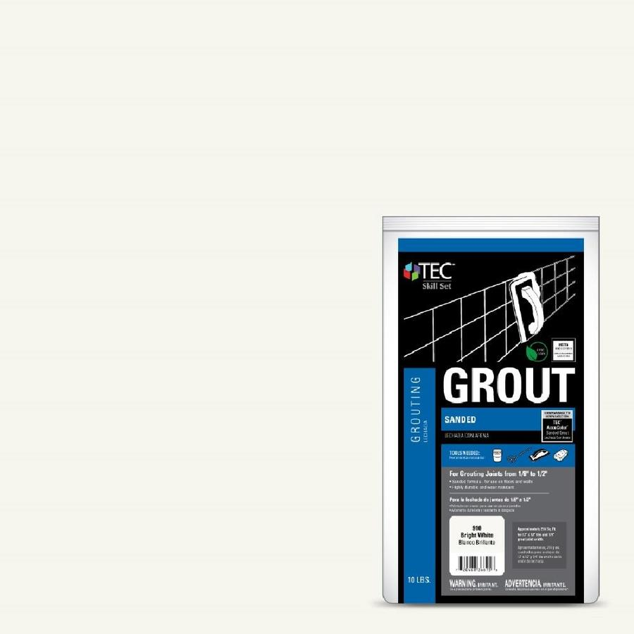 TEC Skill Set 10-lb Bright White Sanded Powder Grout