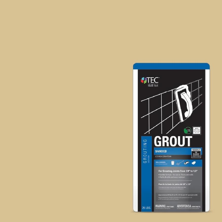 TEC Skill Set 25-lb Almond Sanded Powder Grout