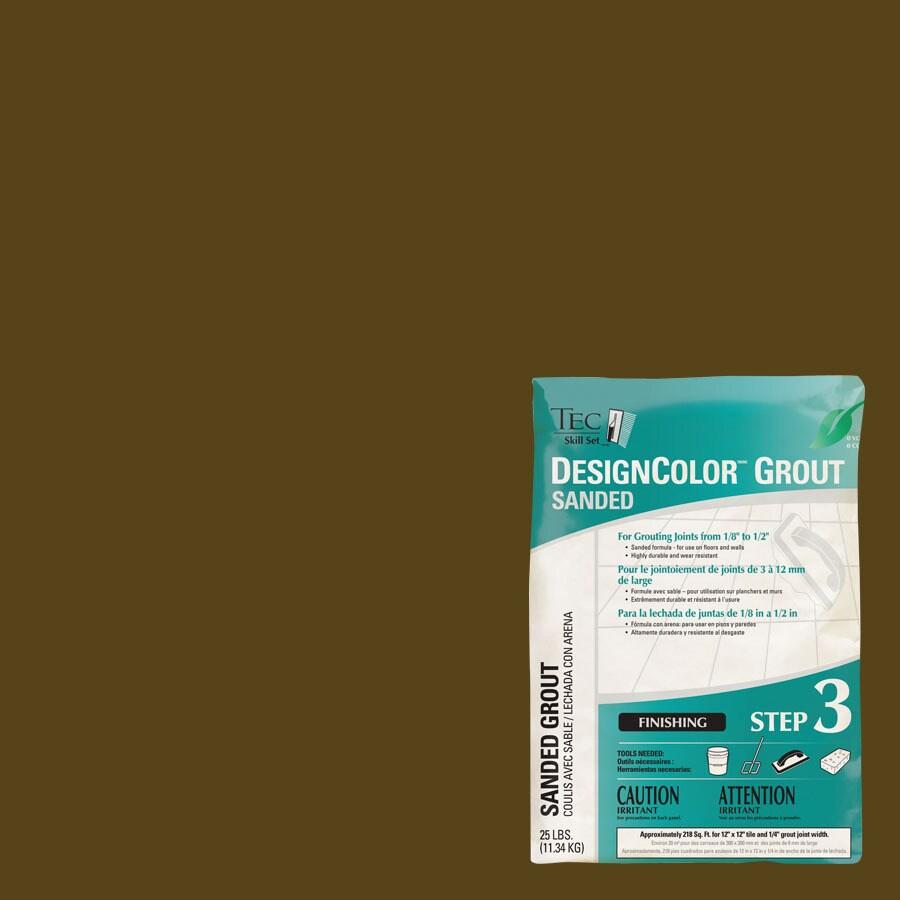 TEC Skill Set 25-lb Coffee Sanded Powder Grout
