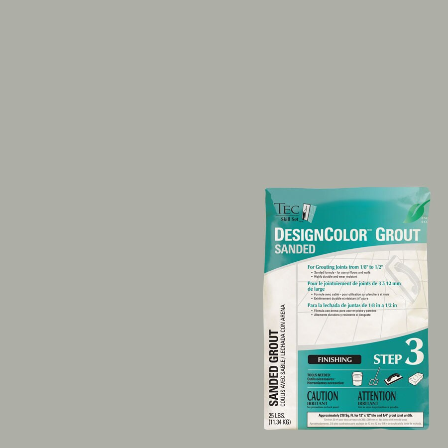 TEC Standard Gray Sanded Powder Grout