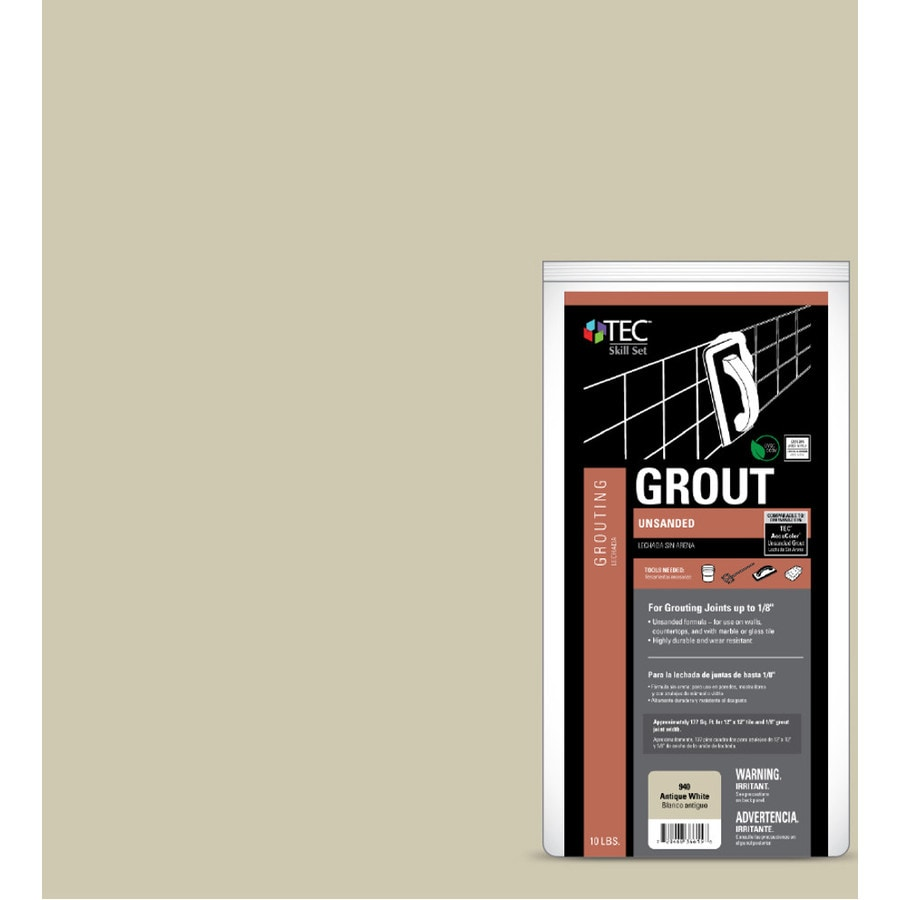 TEC Skill Set 10-lb Antique White Sanded Powder Grout