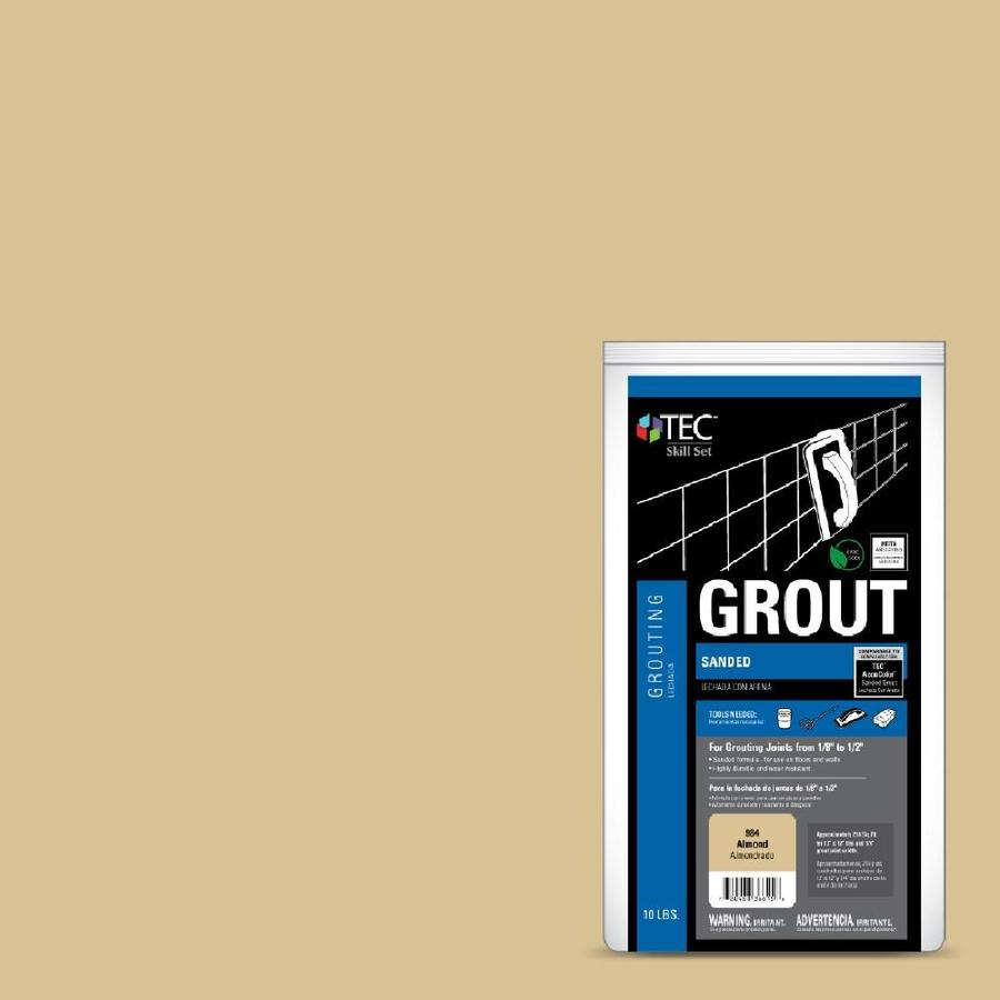 TEC Skill Set 10-lb Almond Sanded Powder Grout