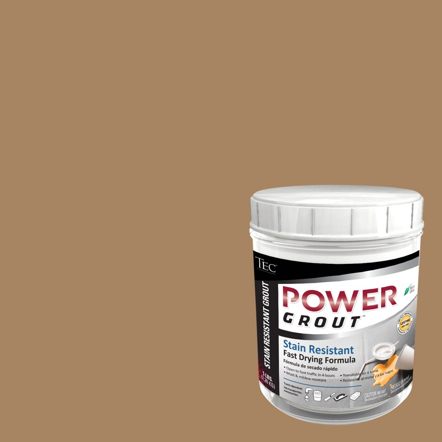 TEC 5-lb Light Buff Sanded Powder Grout