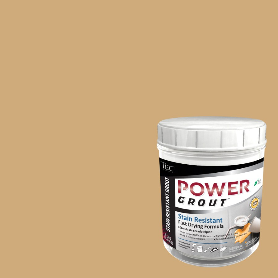 TEC 5-lb Almond Sanded Powder Grout