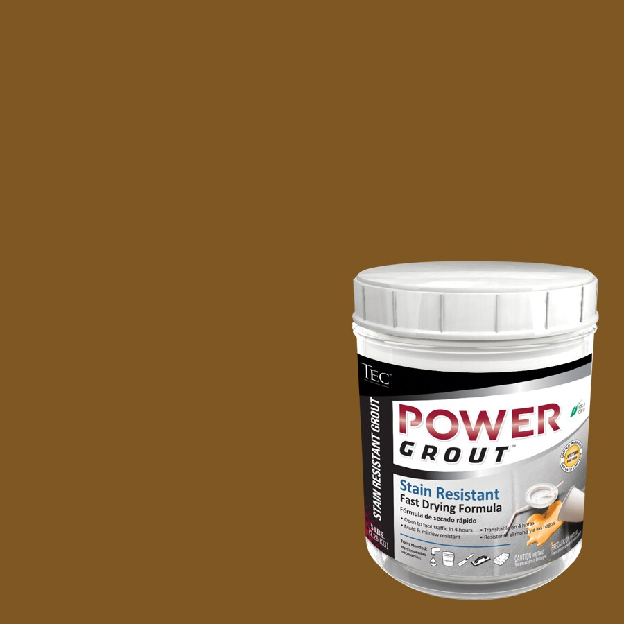 TEC 5-lb Light Chocolate Sanded Powder Grout