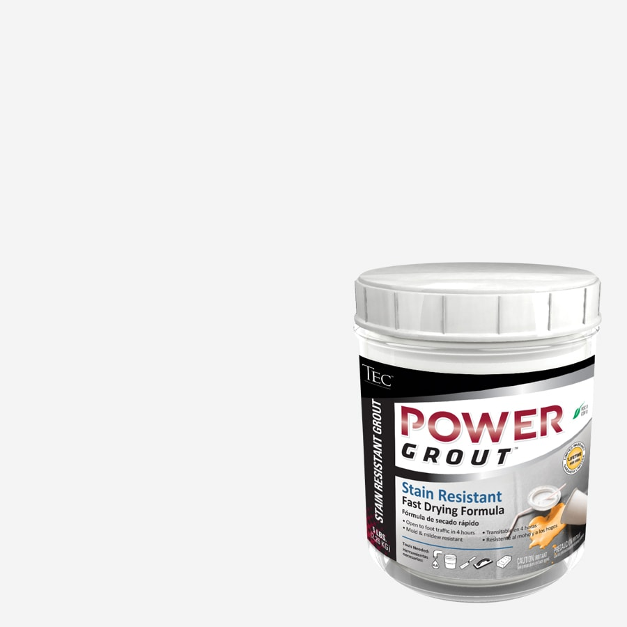 TEC 5-lb Standard White Sanded Powder Grout