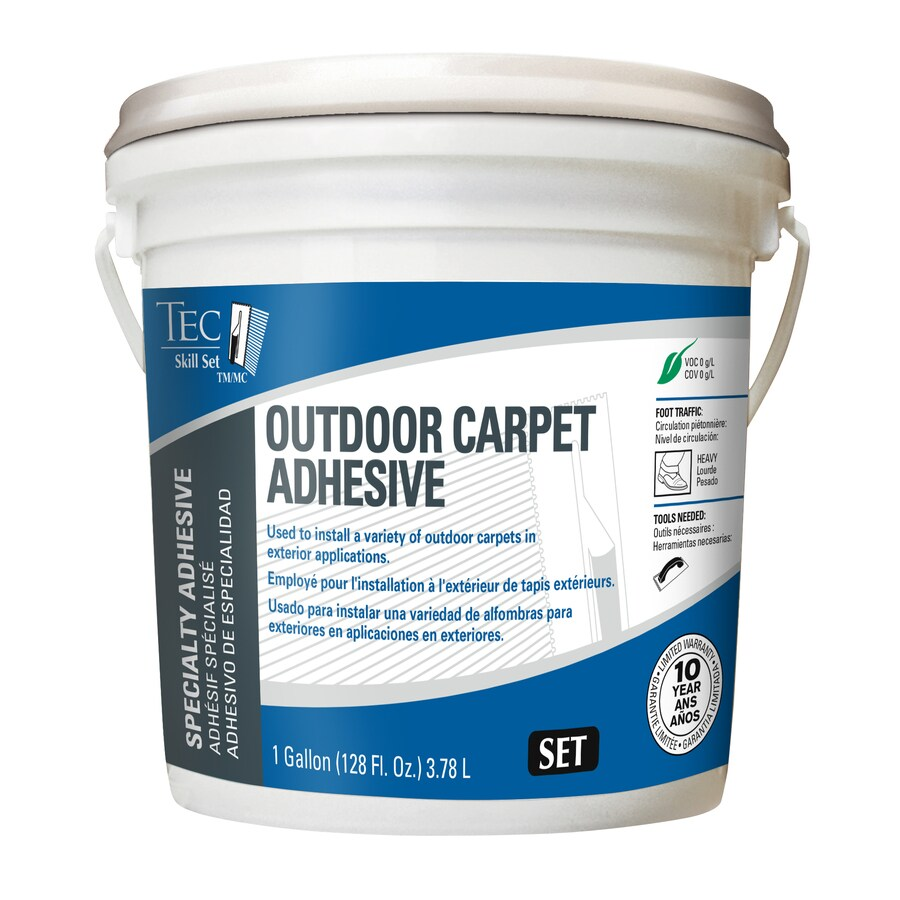 TEC 1-Gallon Pail Trowel Carpet Adhesive