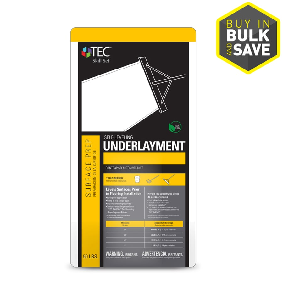 TEC Skill Set Gray and Silver Indoor Floor Patch and Leveler
