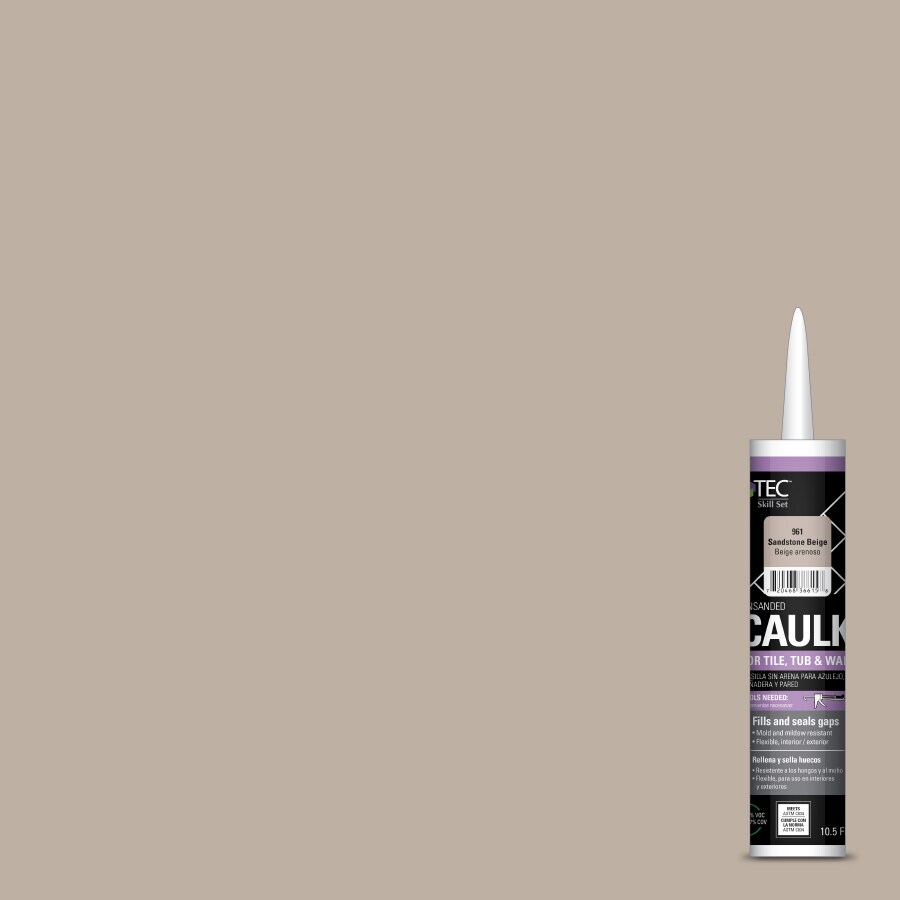 TEC Skill Set 10.5-fl oz Beige Latex Kitchen and Bathroom Caulk
