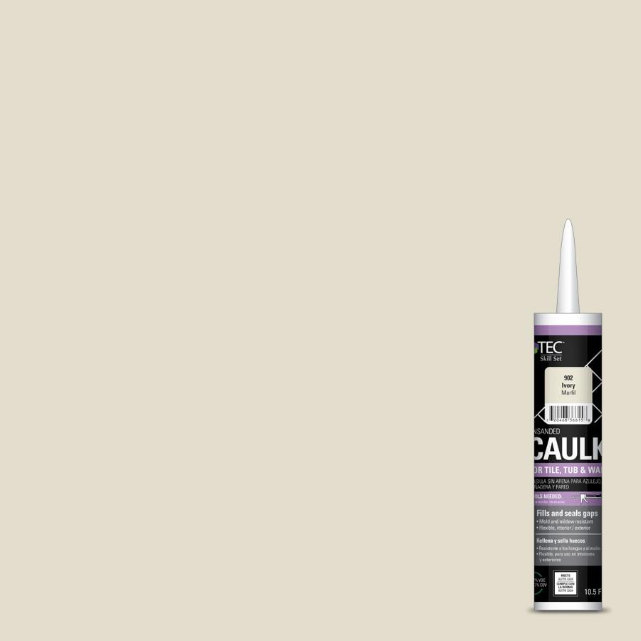 TEC Skill Set 10.5-fl oz Ivory Latex Kitchen and Bathroom Caulk