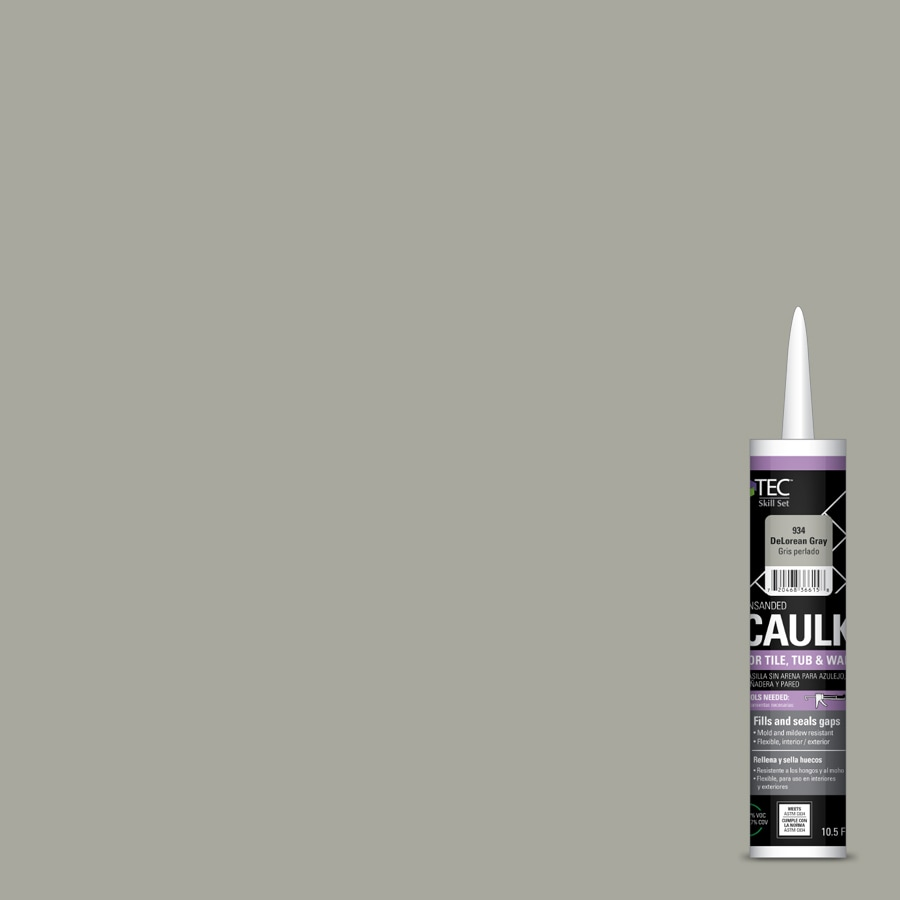 TEC Skill Set 10.5-fl oz DeLorean Gray  Caulk