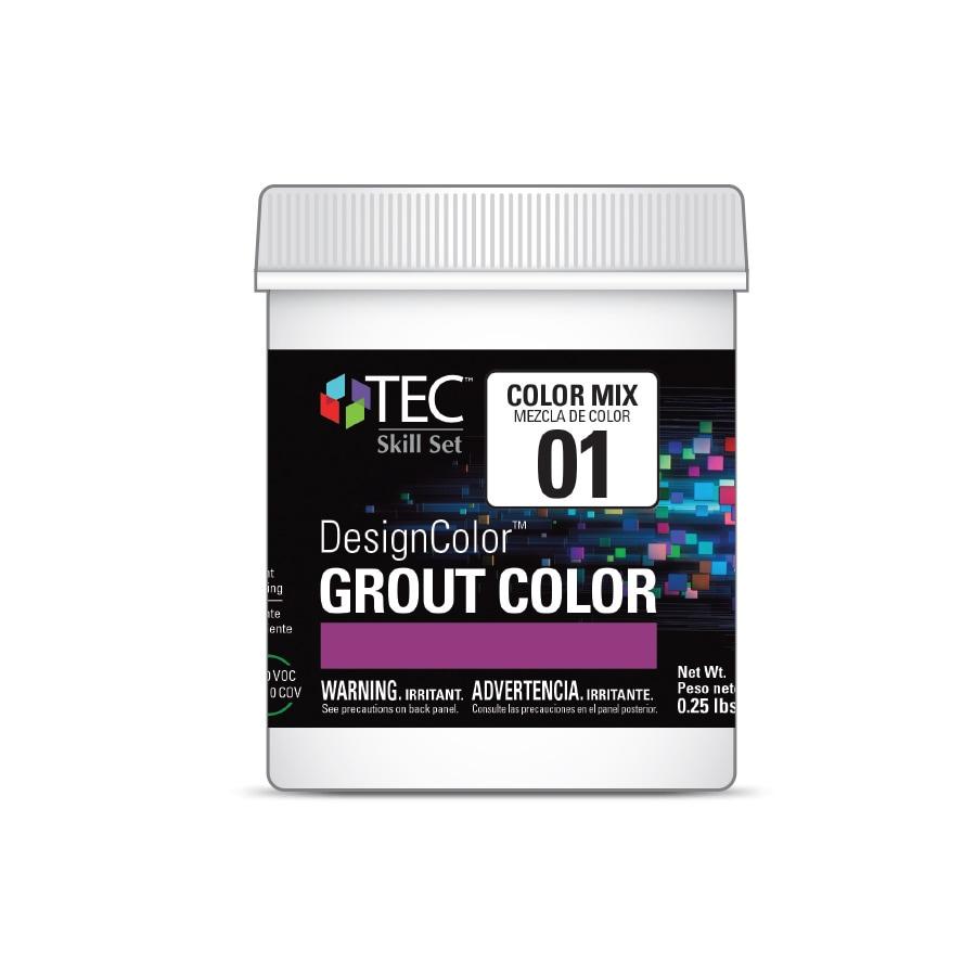 TEC Skill Set DesignColor #1 Bright White 4-oz Grout Tint