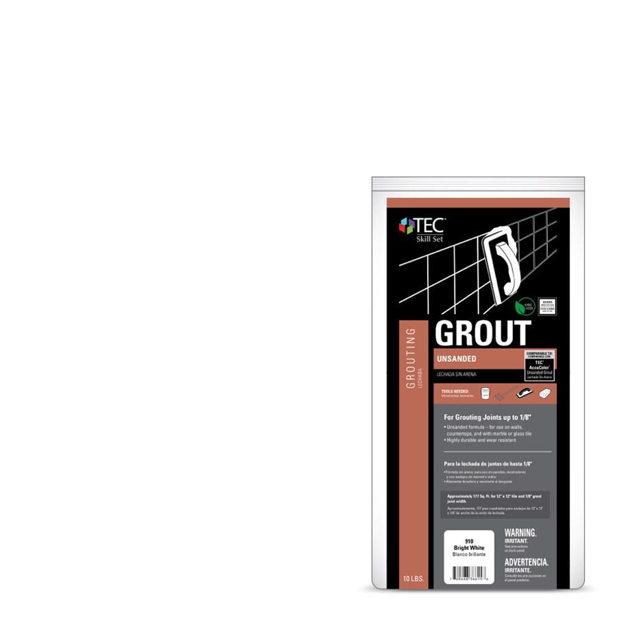 TEC Skill Set 10-lb Bright White Powder Grout