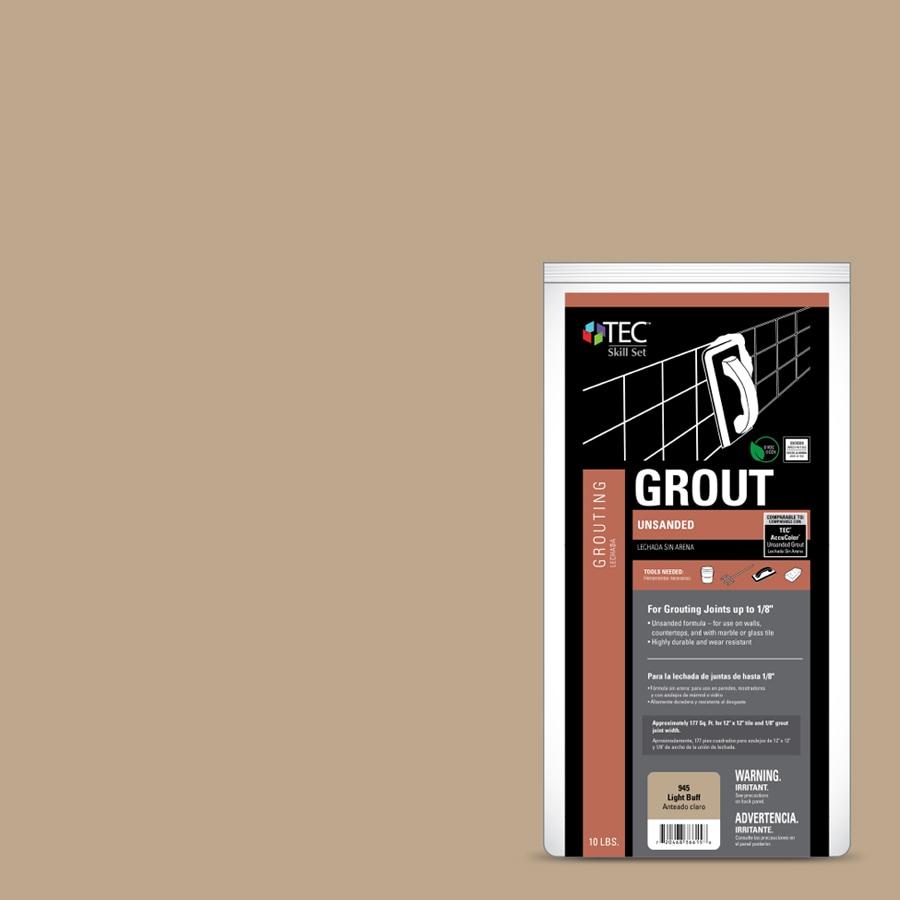 TEC Skill Set 10-lb Light Buff Powder Grout