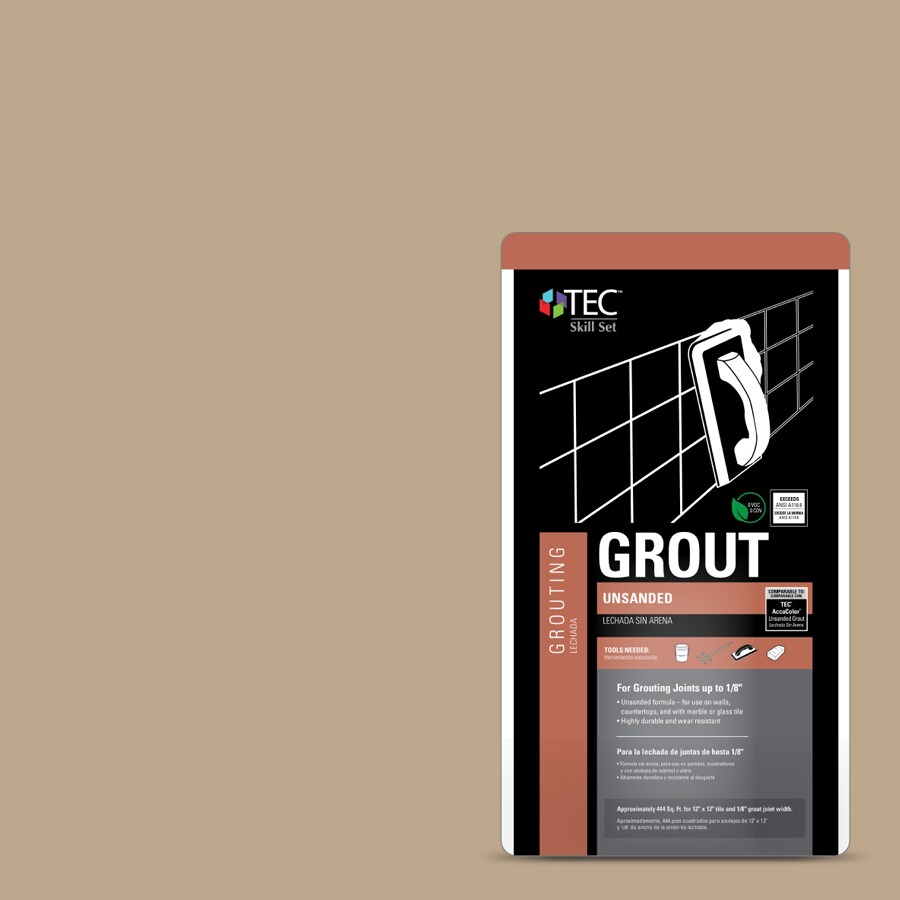 Tec Skill Set 25 Lb Light Buff Powder Grout At Lowes Com