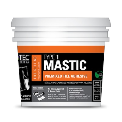 TEC Skill Set Skill Set-Pack Ceramic Tile Mastic (3 5-Gallon
