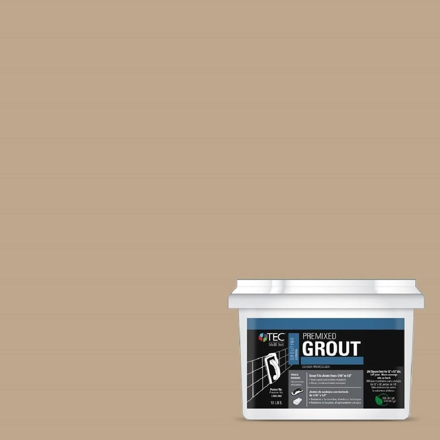TEC Skill Set 10-lb Light Buff Sanded Premixed Grout