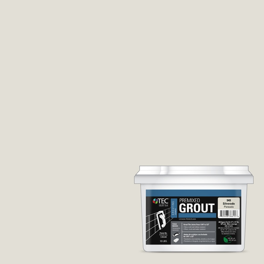 TEC Skill Set 10-lb Silverado Sanded Premixed Grout