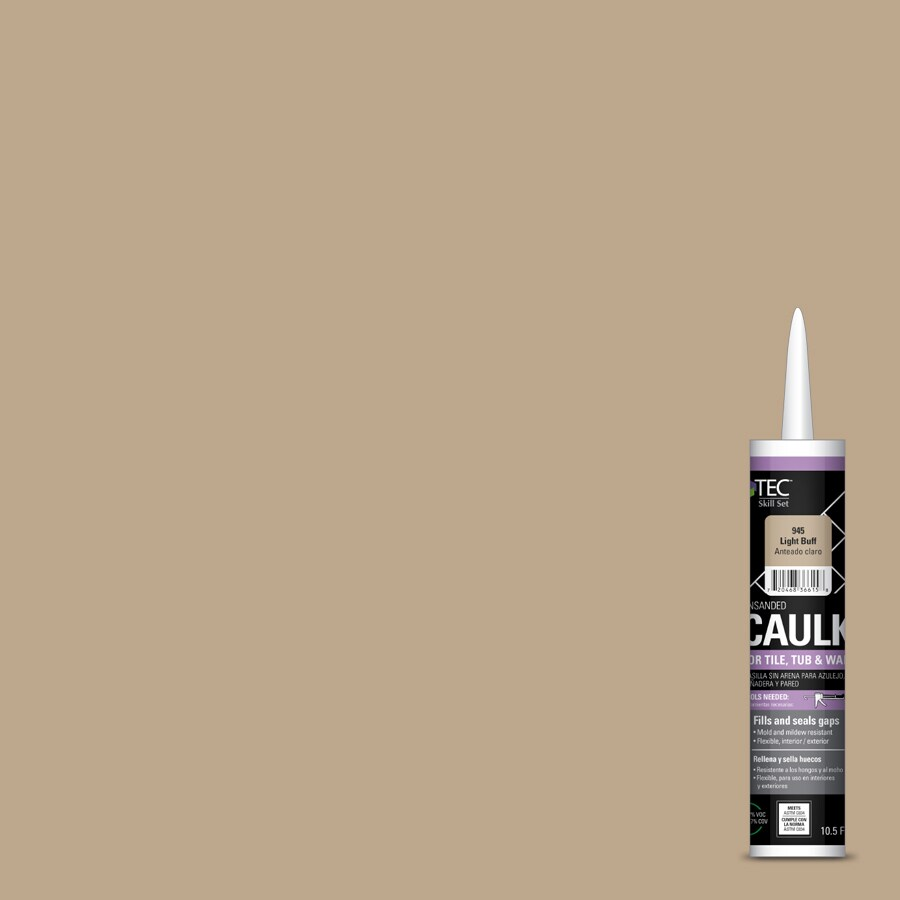 TEC Skill Set 10.5-fl oz Light Buff  Caulk