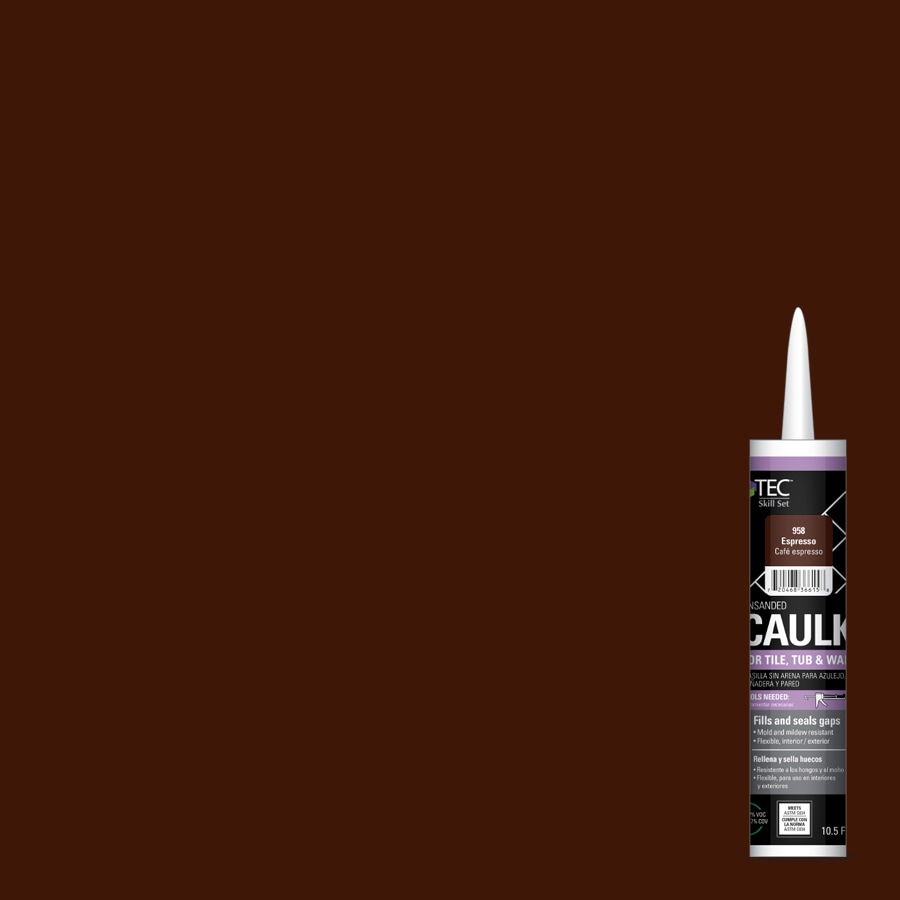 TEC Skill Set 10.5-fl oz Espresso Latex Kitchen and Bathroom Caulk
