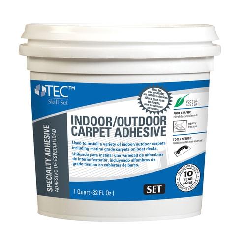 Tec Skill Set Outdoor Carpet Adhesive 1 Quart Pack Carpet Flooring Adhesive 1 Quart In The Flooring Adhesives Department At Lowes Com