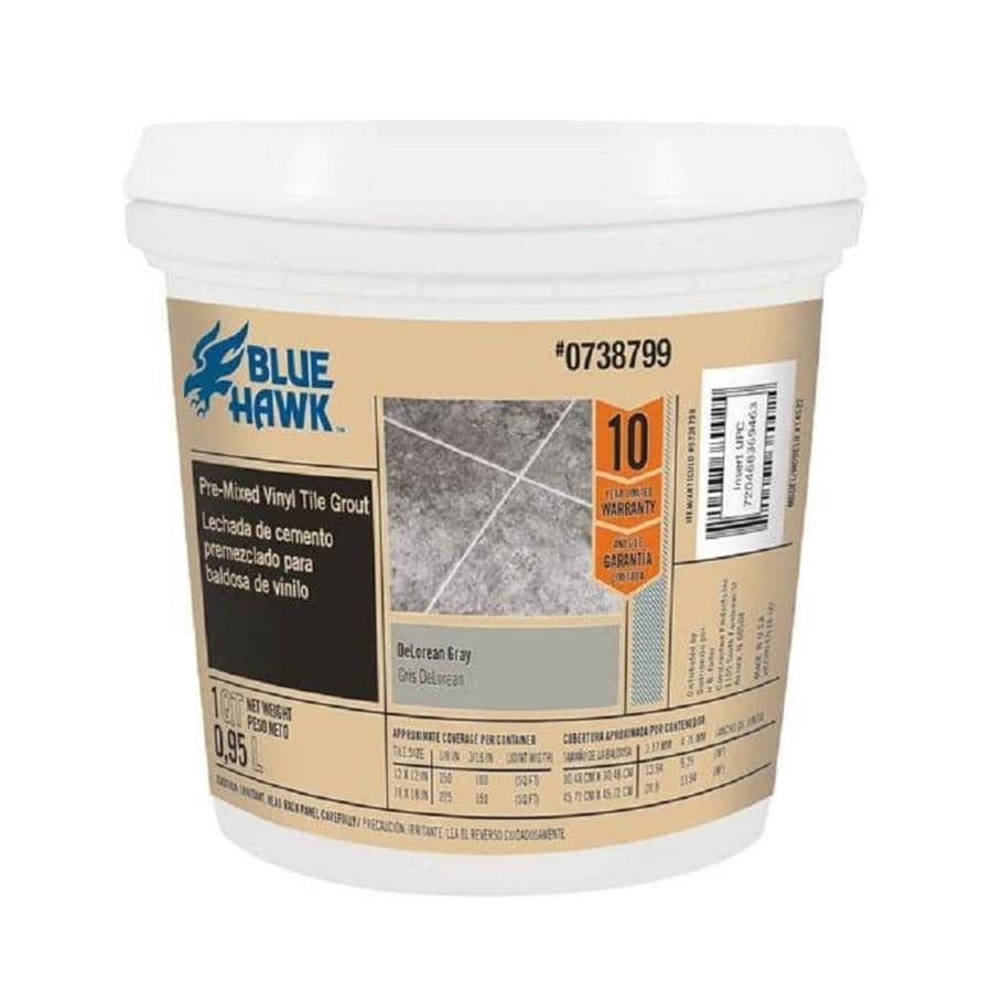 Blue Hawk TEC Skill Set 32-oz Delorean Gray Sanded Premixed Grout
