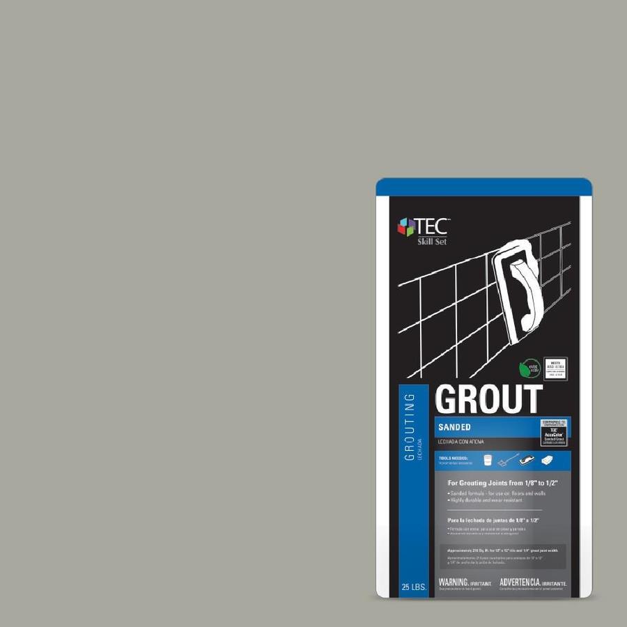TEC Skill Set 25-lb Delorean Gray Sanded Powder Grout