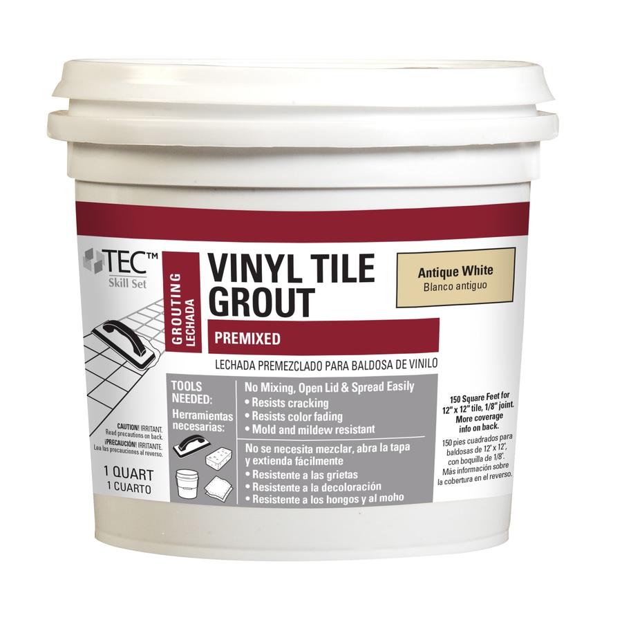 Blue Hawk TEC Skill Set 32-oz Antique White Sanded Premixed Grout