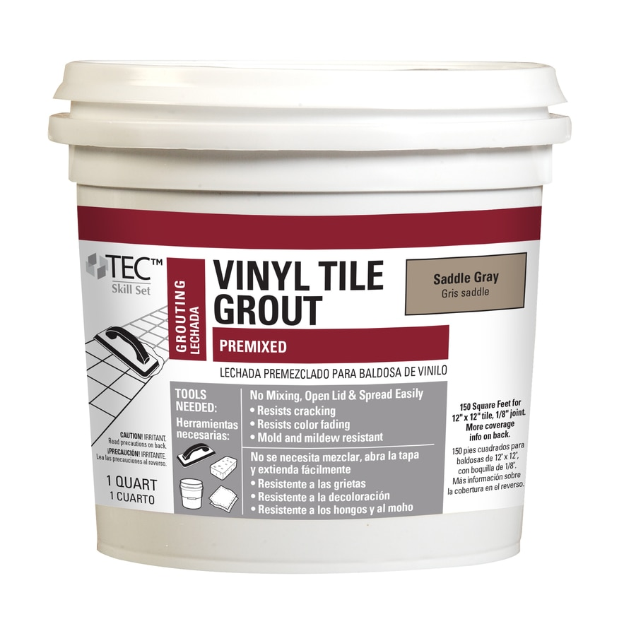 Blue Hawk TEC Skill Set 32-oz Saddle Gray Sanded Premixed Grout
