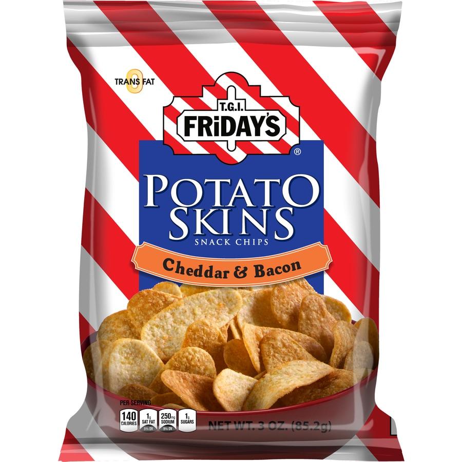 TGI Fridays 3-oz Potato Chips/Snacks