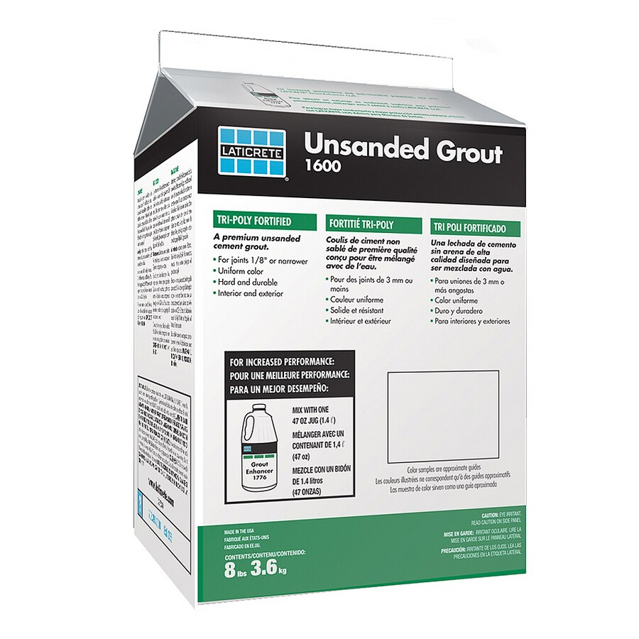 LATICRETE 8 lbs. Antique White Unsanded Powder Grout