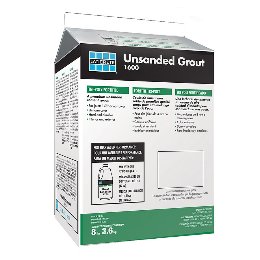 LATICRETE 8 lbs. Parchment Unsanded Powder Grout