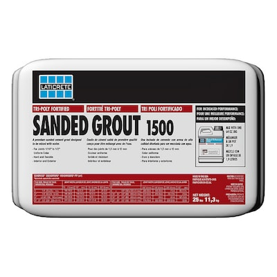 Laticrete 25 Lbs Silver Shadow Sanded Powder Grout At Lowes
