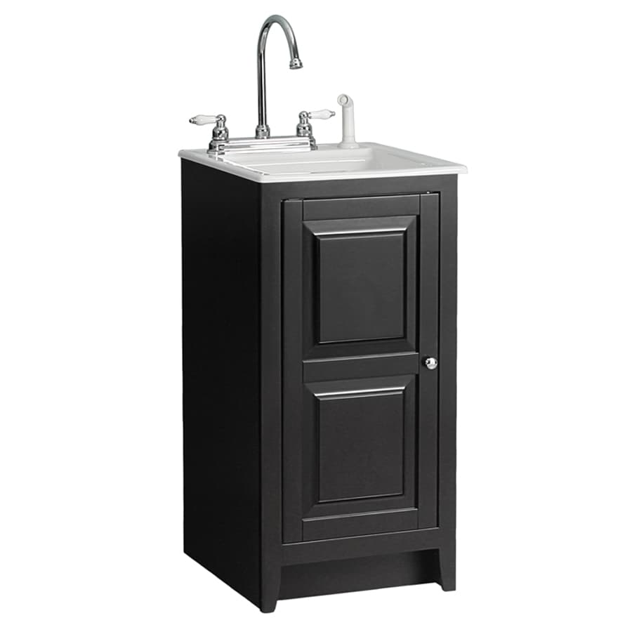 Foremost Casual Acrylic Utility Tub In 18 Espresso Cabinet