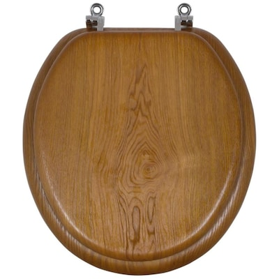 Phenomenal Wood Look Wood Round Toilet Seat Caraccident5 Cool Chair Designs And Ideas Caraccident5Info